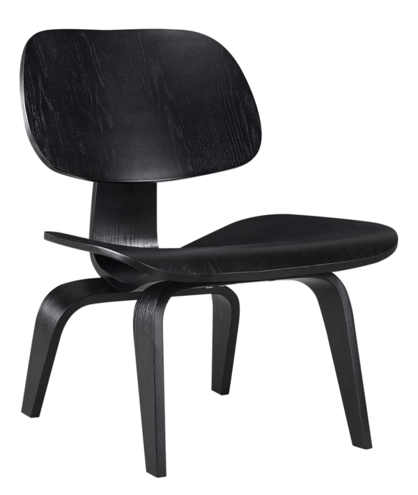 Eames LCW Lounge Chair Full Black Edition