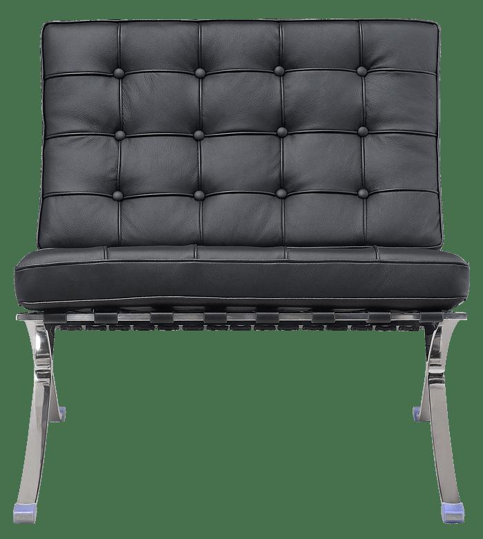 Paviljoen Chair Luxe Volleer Zwart