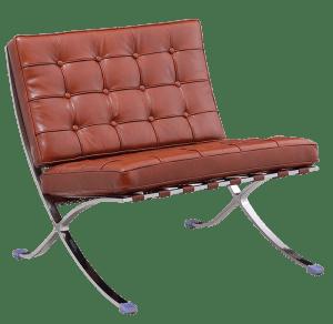 Paviljoen Chair Luxe Volleer Cognac/Bruin