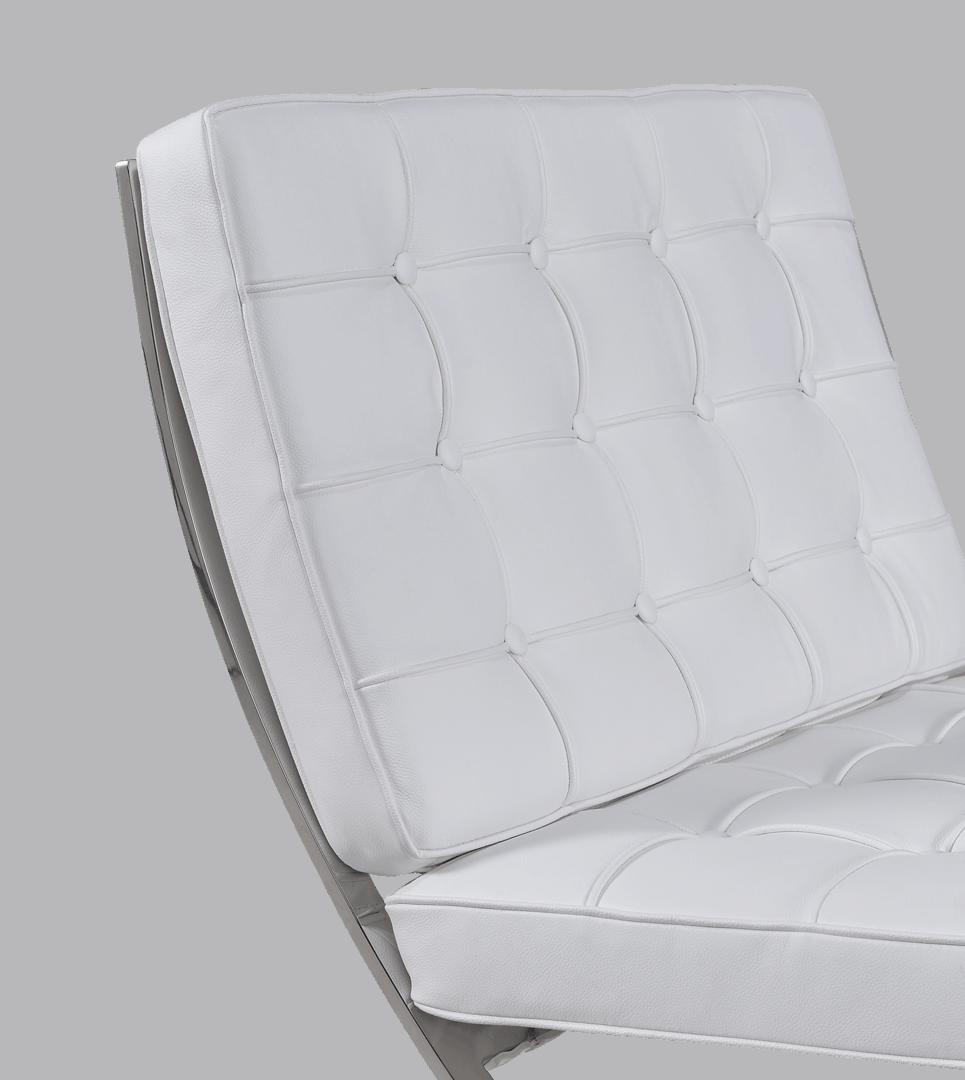 Paviljoen Chair Luxe Volleer Wit