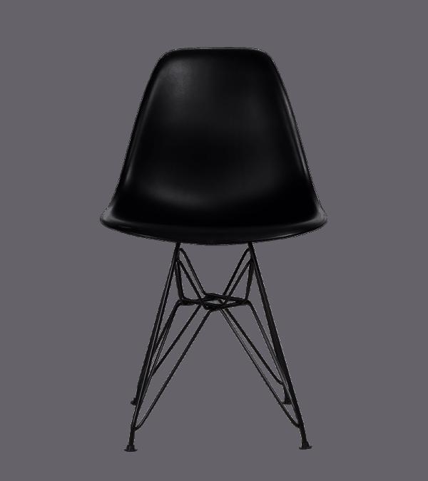 Eames DSR Stoel Zwart