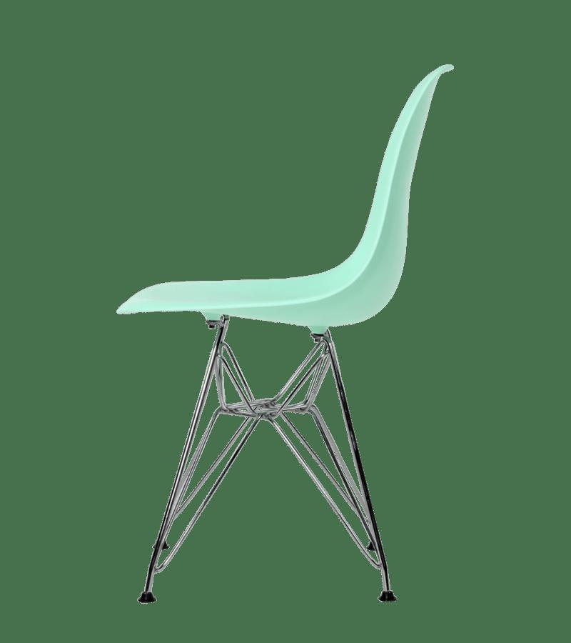Eames DSR stoel mint