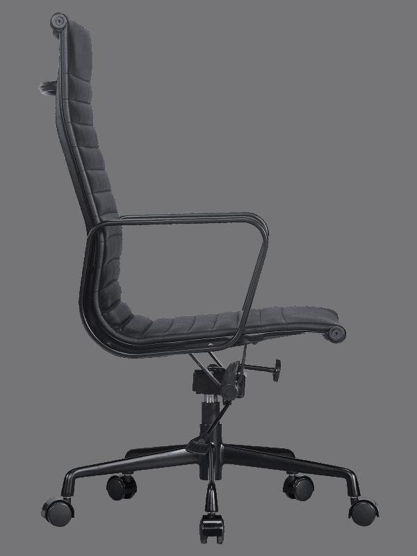 Eames EA 119 Bureaustoel Full Black