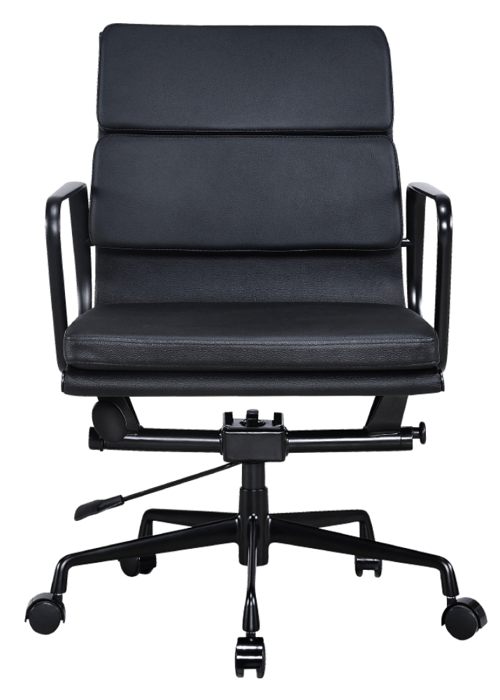 Eames EA 217 Softpad Bureaustoel Full Black