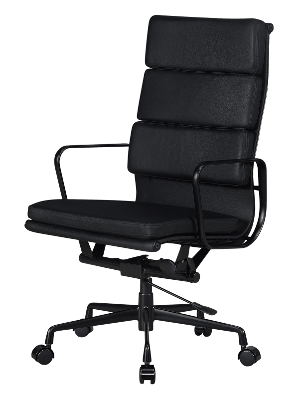 Eames EA 219 Softpad Bureaustoel Full Black