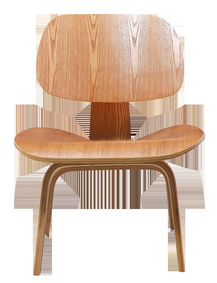 Eames LCW Lounge Chair Naturel Essen
