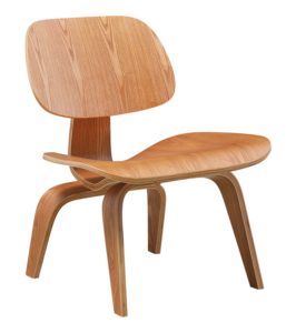 Eames LCW Lounge Chair Naturel Essen