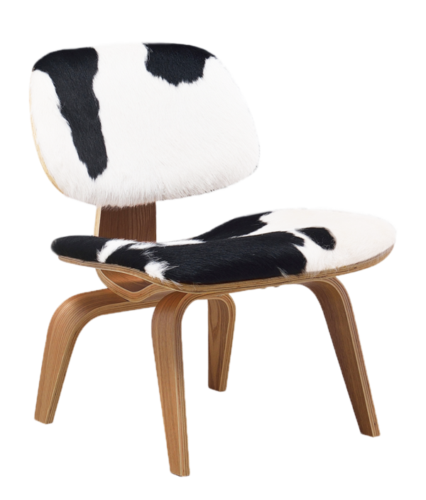Eames LCW Lounge Chair Pony / Naturel Essen