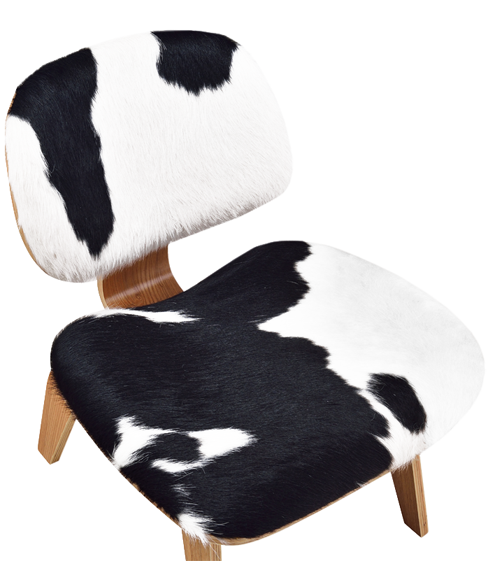 Eames LCW Lounge Chair Pony / Naturel Essen