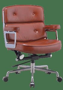Eames lobby chair ES 104 cognac