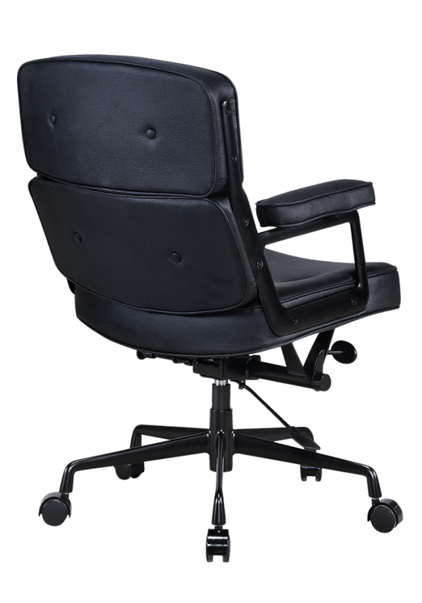 Eames Lobby Chair ES 104 Full Black