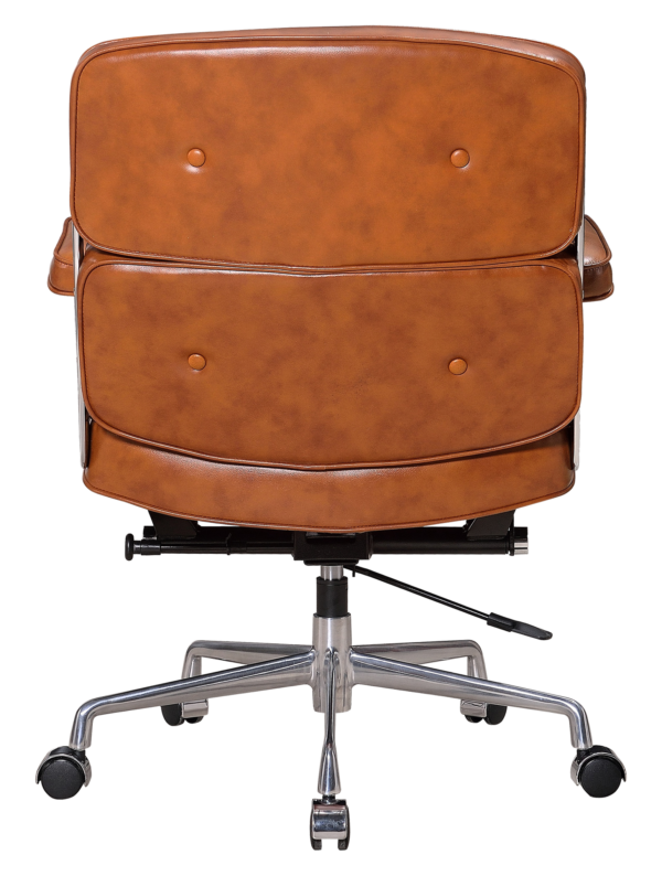 Eames ES 104 Lobby Chair Cognac Leer