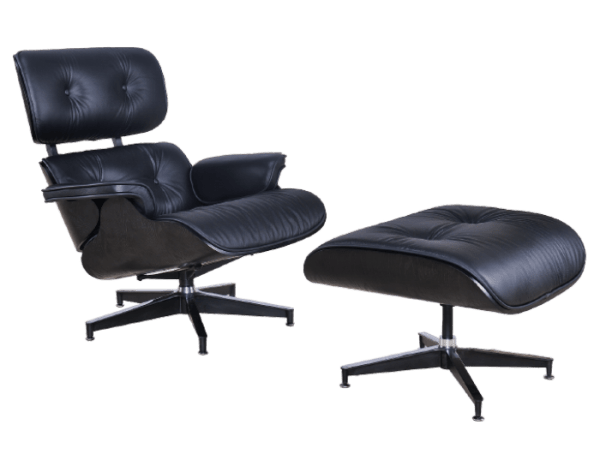 Eames Lounge Chair Full Black Edition
