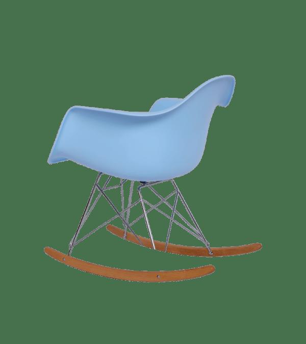 Eames RAR Schommelstoel Blauw