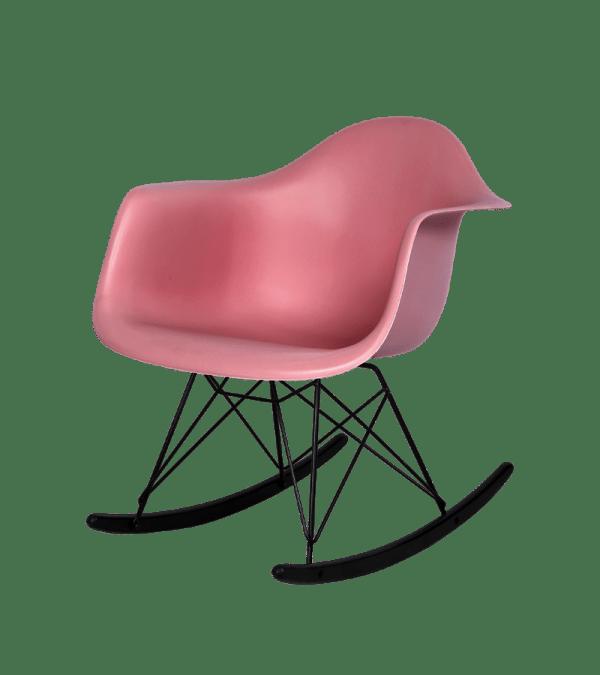 Eames RAR Schommelstoel Roze