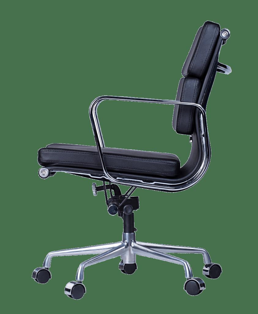 Softpad EA 217 bureaustoel zwart leer