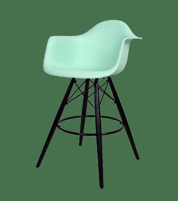 Eames DAW Barkruk Mint
