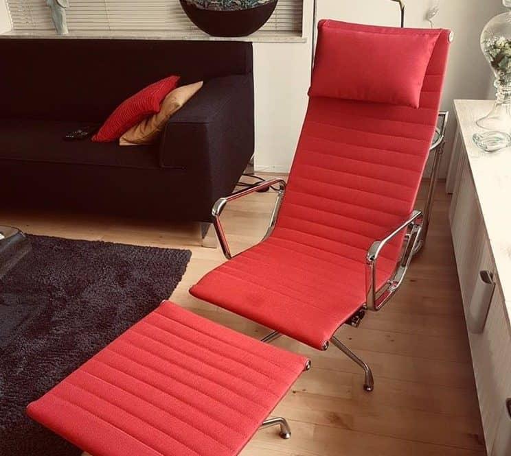 Eames EA 124 Lounge Chair Custom Made