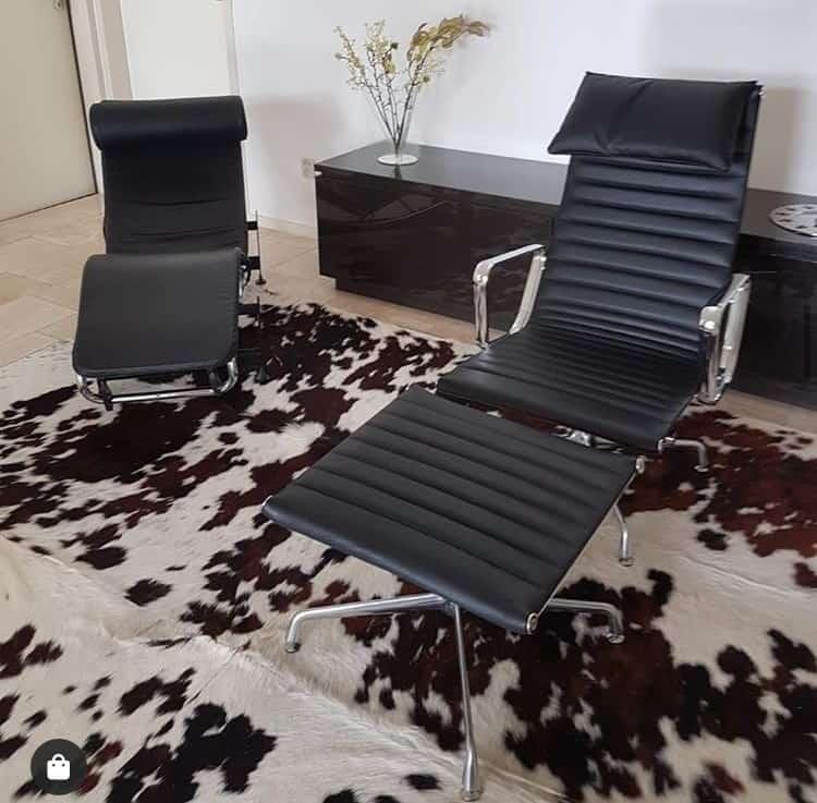 Eames EA 124 Lounge Chair Replica
