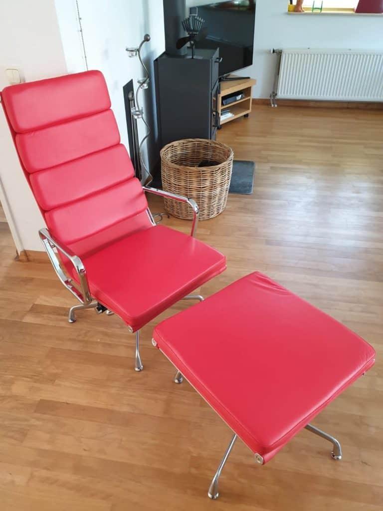 Eames EA222 Lounge Chair Set Custom