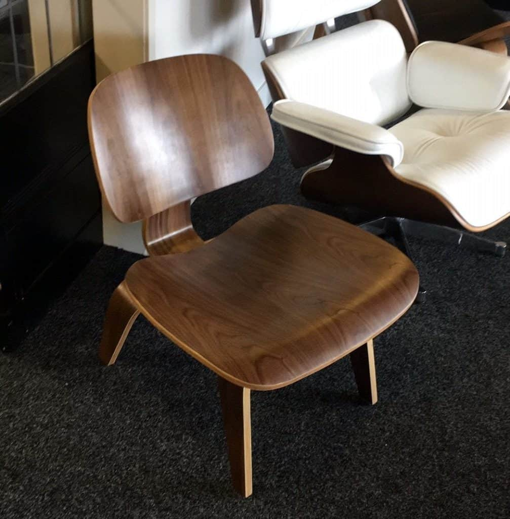 Eames LCW Lounge Chair Walnoot Cavel Design