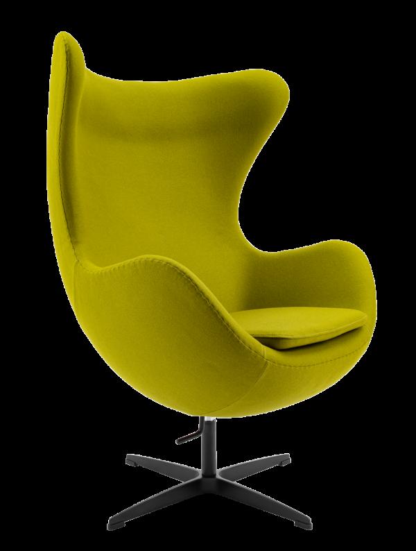 Egg Chair Groen Kasjmier