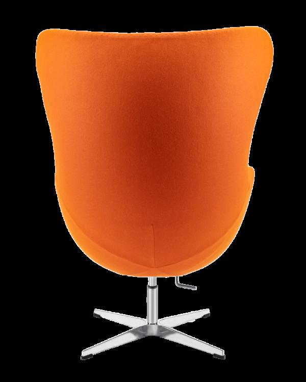 Egg Chair Oranje Kasjmier