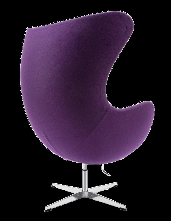 Egg Chair Paars Kasjmier
