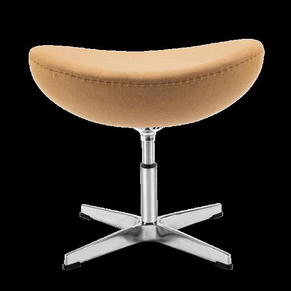 Egg Chair Ottoman / Hocker Zand Kasjmier