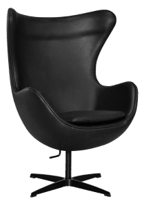 Egg Chair Full Black Edition