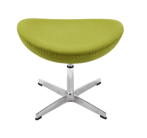 Egg Chair Ottoman / Hocker Groen Kasjmier