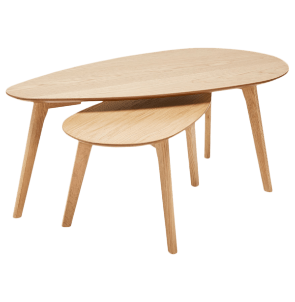 Salontafel Set Maranga Eiken