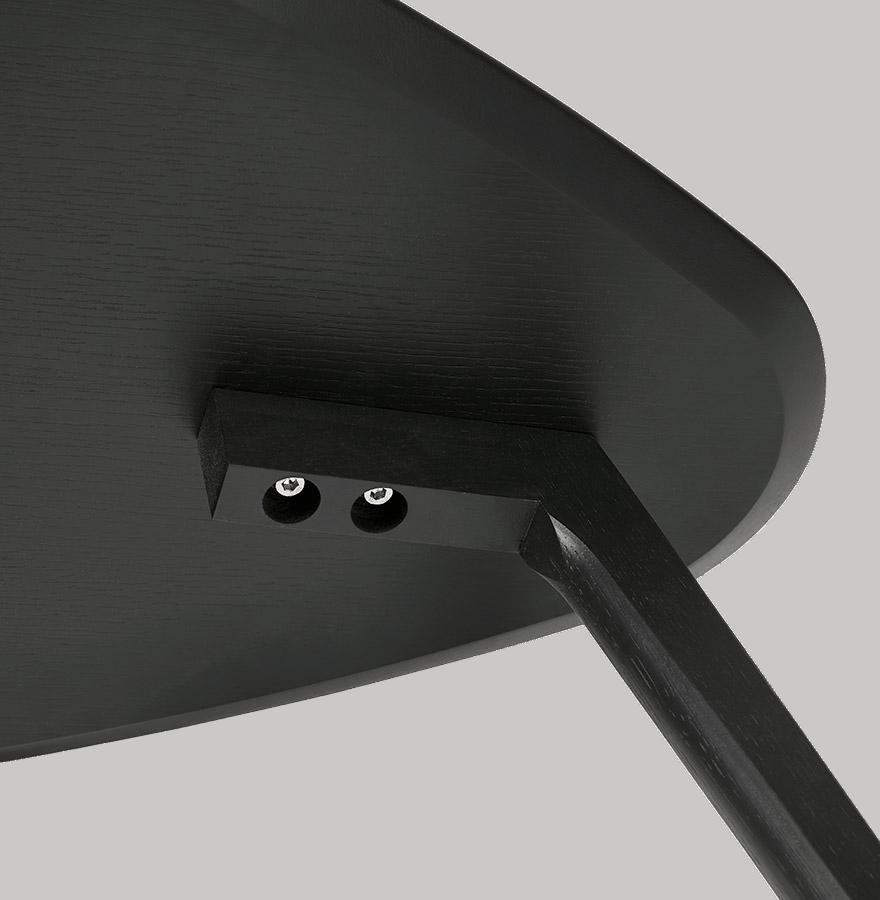 Salontafel Set Maranga Zwart Eiken
