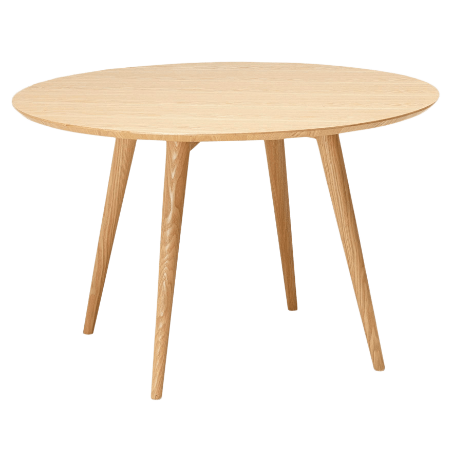 Eettafel Haner Rond Natural Essen