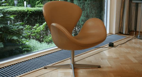 Kleurstalen Pakket Leer |  Swan Chair