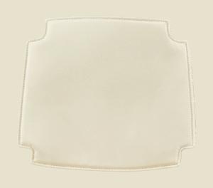 Wegner Wishbone Stoel Seatdot / Kussentje Offwhite