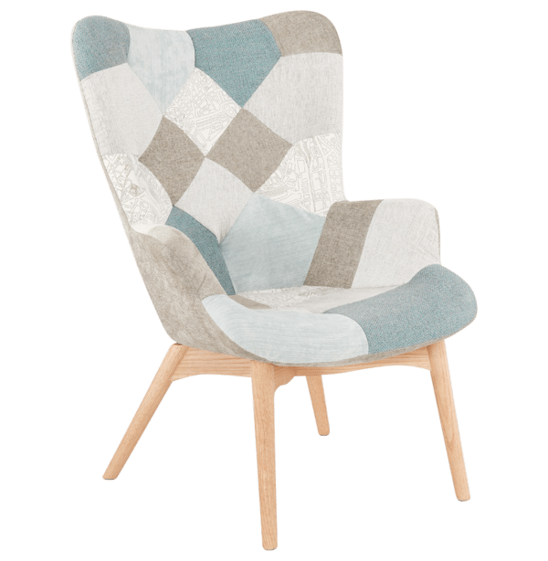 Grant Featherston Chair Patchwork