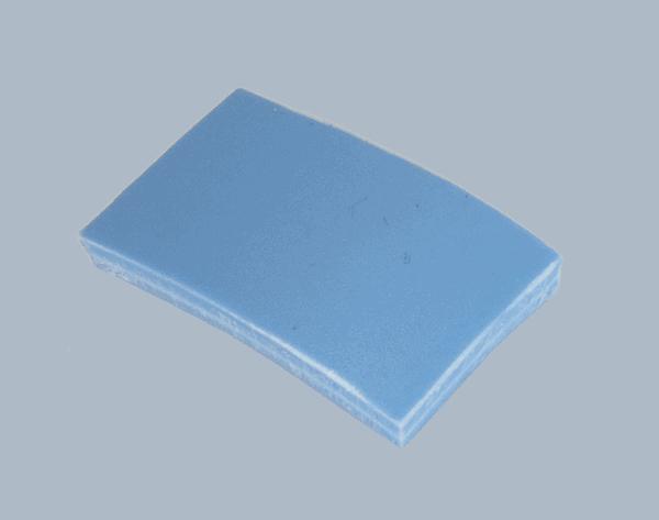 Polypropyleen (Kunststof) Kleurstaal Blauw
