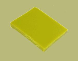 Polypropyleen (Kunststof) Kleurstaal Okergold