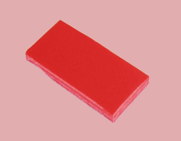 Polypropyleen (Kunststof) Kleurstaal Rood