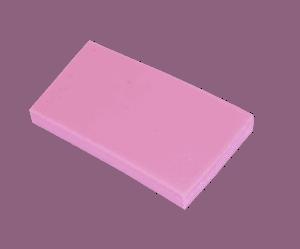 Polypropyleen (Kunststof) Kleurstaal Roze