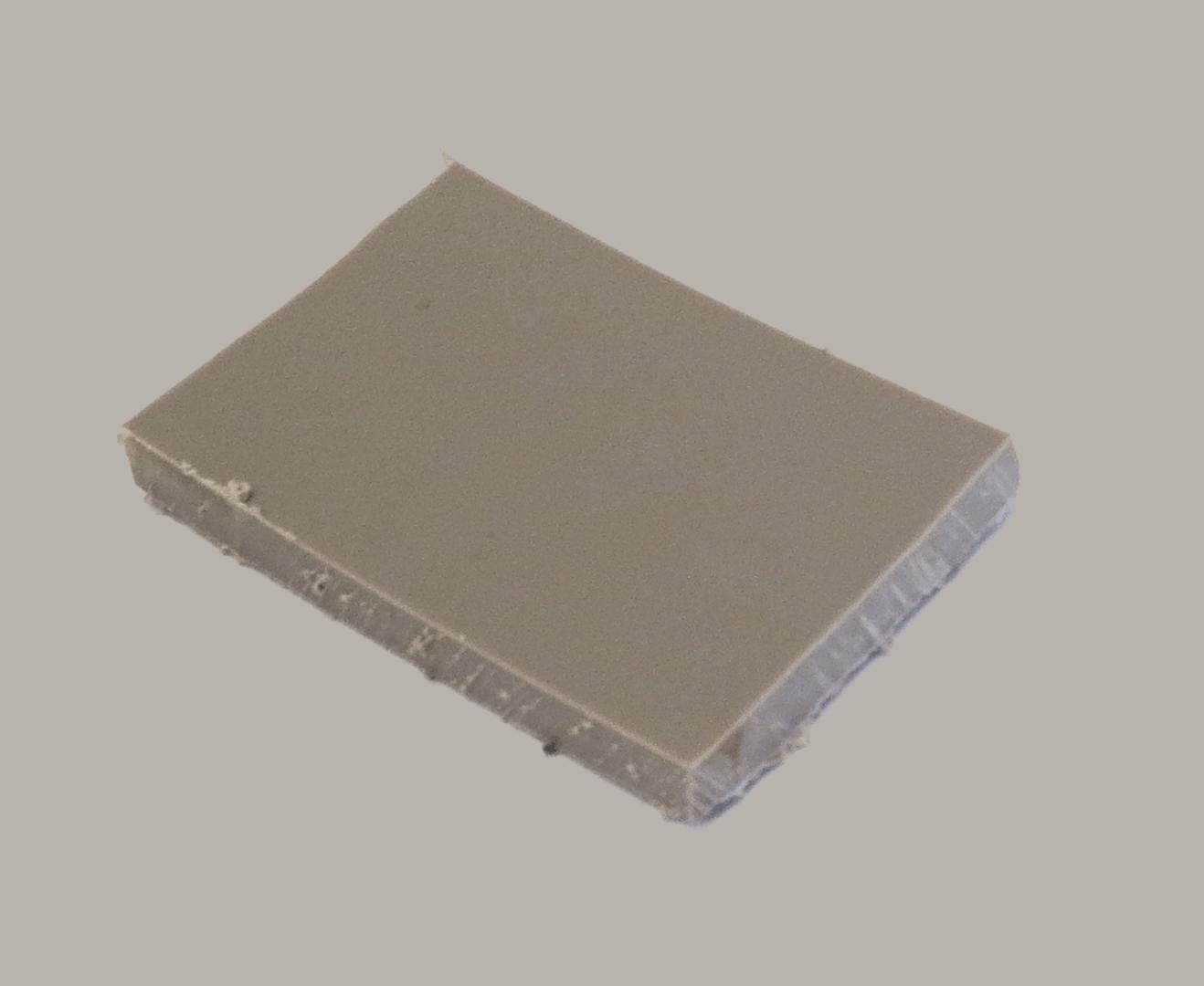 Polypropyleen (Kunststof) Kleurstaal Warm Grijs