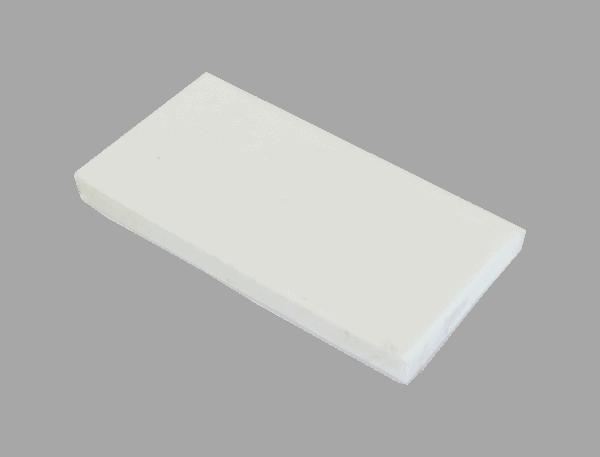 Polypropyleen (Kunststof) Kleurstaal Wit