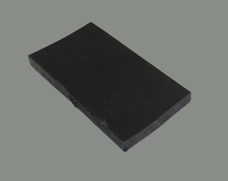 Polypropyleen (Kunststof) Kleurstaal Zwart