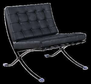 Paviljoen Chair Luxe Full Black
