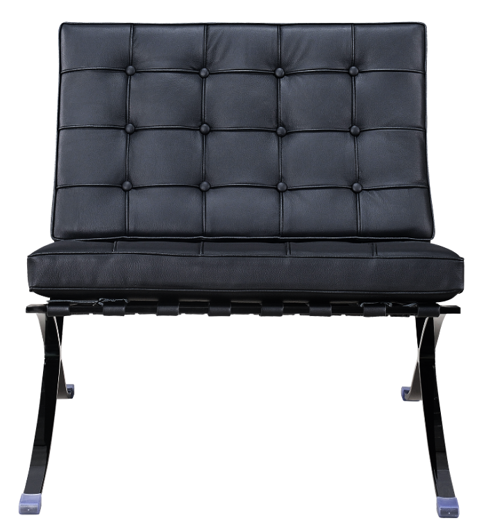Paviljoen Chair Luxe Full Black
