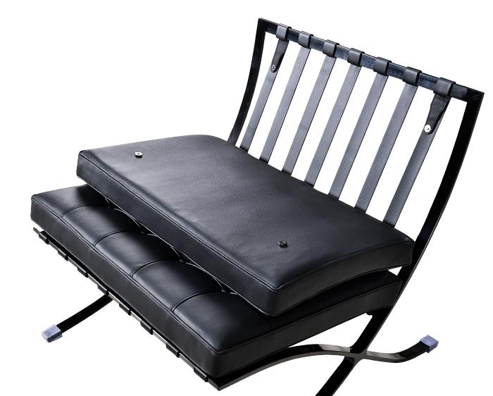 Barcelona Chair Luxe Full Black