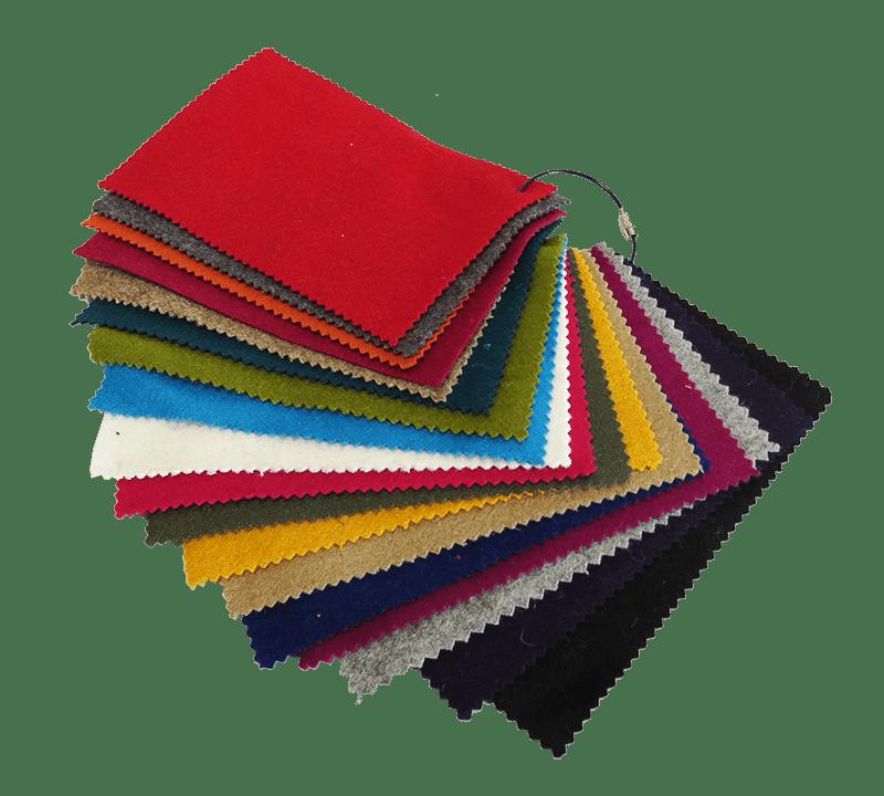 Kleurstalen Pakket Kasjmier |  Swan Chair