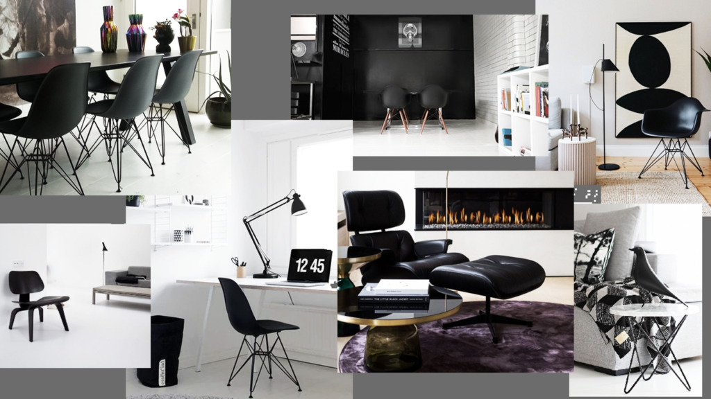 eames full black collage