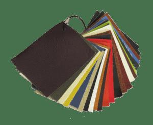 Kleurstalen Pakket Leer |  Eames EA 124 Lounge Chair Set